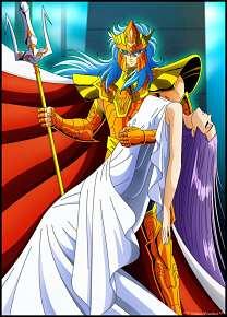 Los Caballeros del Zodiado Saga de Poseidon