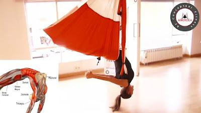 Tutorial, ejercicio Aero Yoga