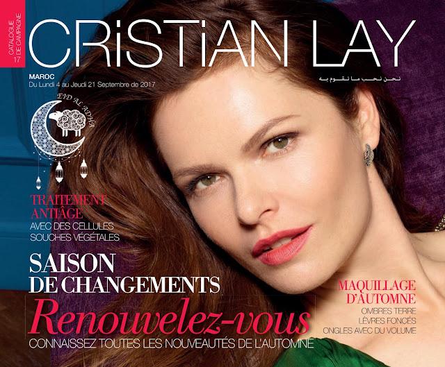 catalogue cristian lay maroc septembre 2017