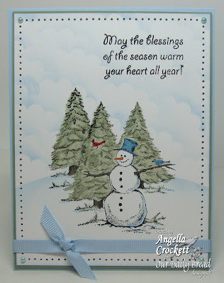 "Our Daily Bread designs ""Warm Wishes"" Designer Angie Crockett"