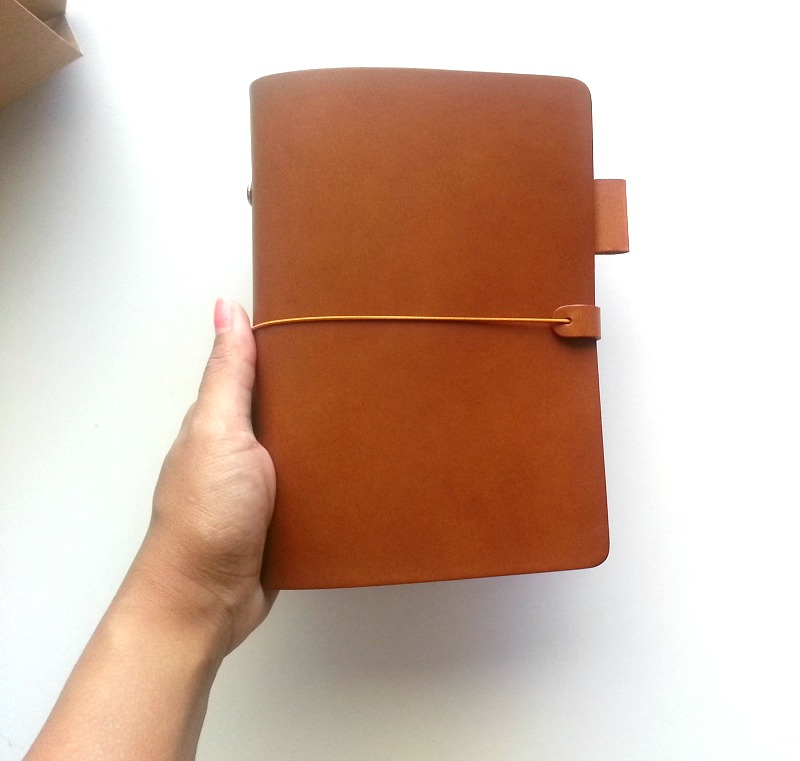 New Leather Notebooks {made In Korea} / Seaweed Kisses