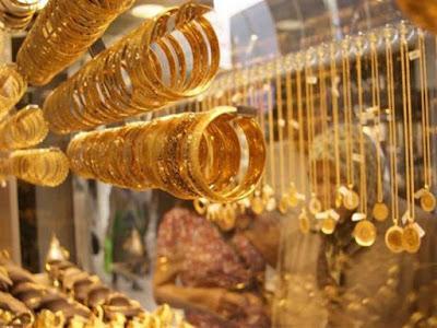 أسعار الذهب في مصر اليوم,
