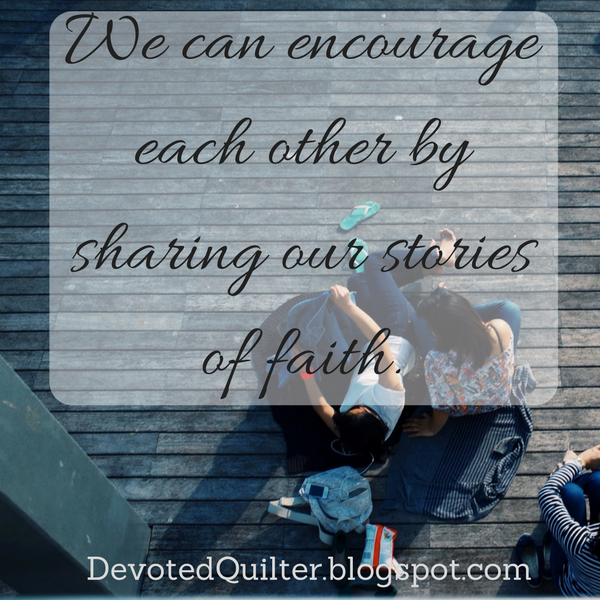 Weekly devotions | DevotedQuilter.blogspot.com