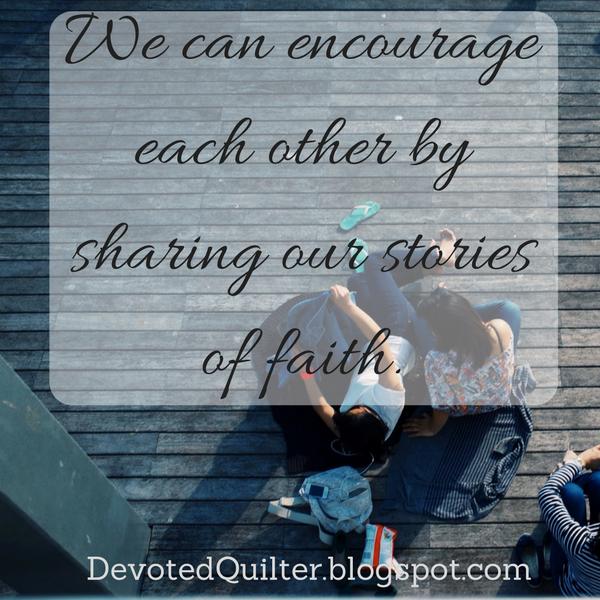 Weekly devotions | DevotedQuilter.blogspot.com