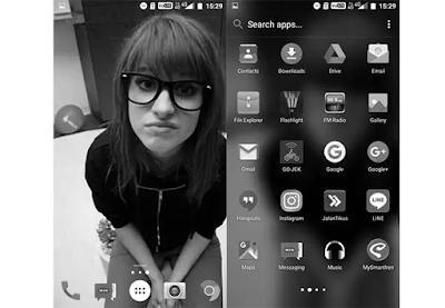 Trik Cara Mengubah Tampilan Layar Android Menjadi Hitam Putih