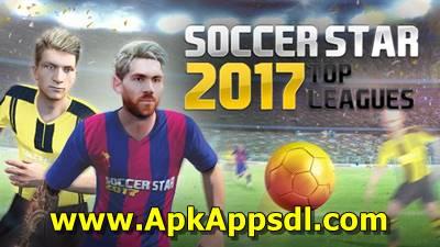 Download Soccer Star 2017 World Legend MOD Apk v3.2.7 Unlimited Money Terbaru