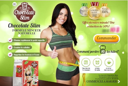''Chocolate Slim'' - Slabesti rapid si sanatos