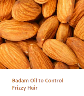 Health Benefits of Almond or Badam Oil to Control Frizzy Hair