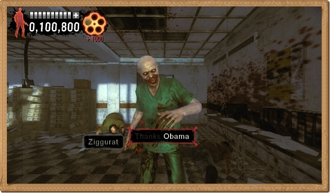 The Typing of the Dead Overkill PC Gameplay