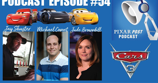 My Favorite Pixar Interviews and Podcasts, 2017 Edition