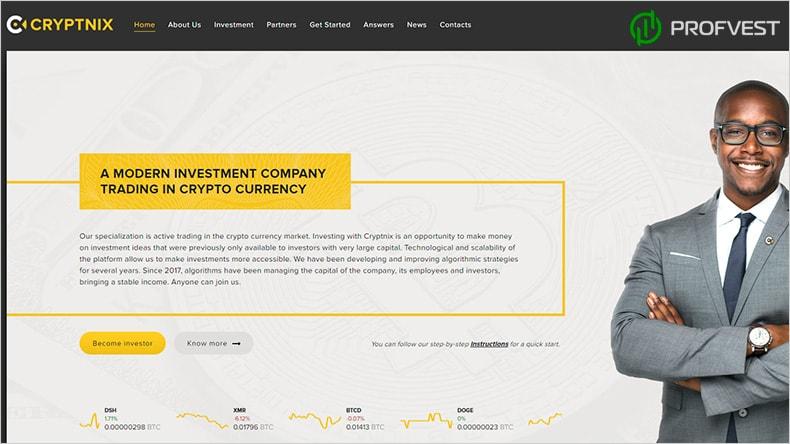 Cryptnix обзор и отзывы HYIP-проекта