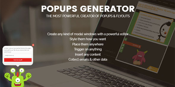 Popups Generator PRO v2.0.2 Nulled