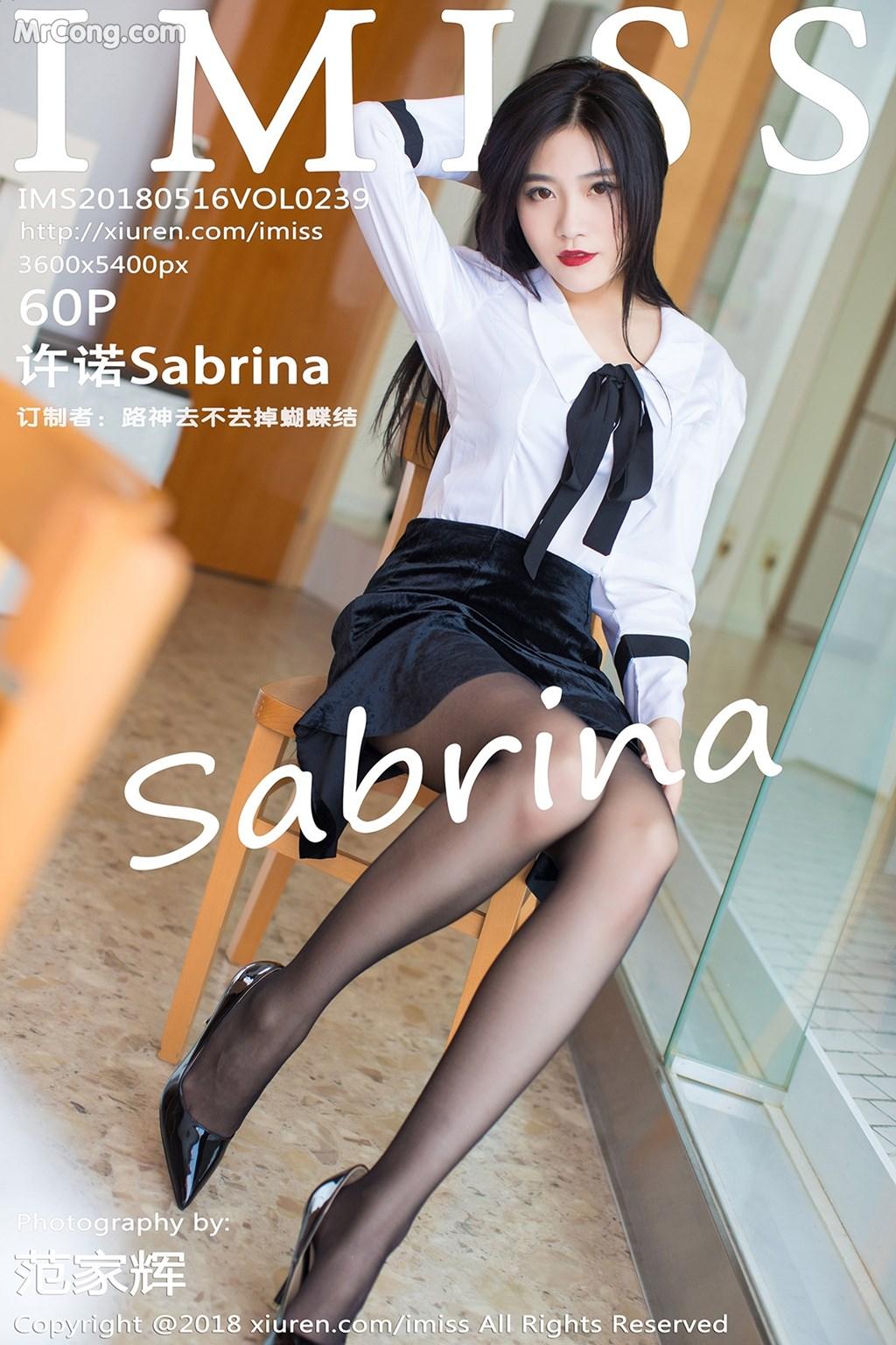IMISS Vol.239: Người mẫu Sabrina  (许诺) (61 ảnh)