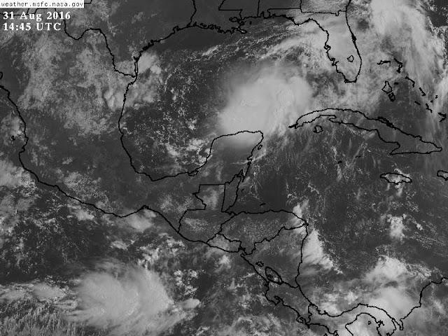 Lluvias con tormentas fuertes en el oriente, centro y sur