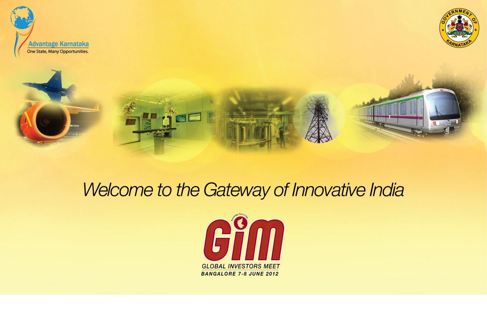 global investors meet bangalore 2012 venue