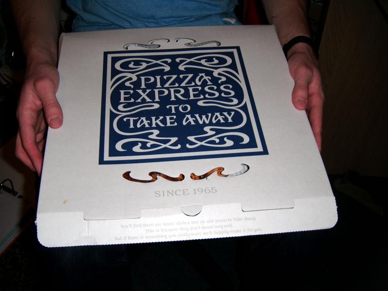 Pizza Express Takeaway Jessica Eats Food