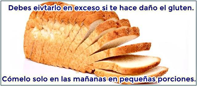 A veces debes eliminar el pan de tu dieta si quieres bajar de peso