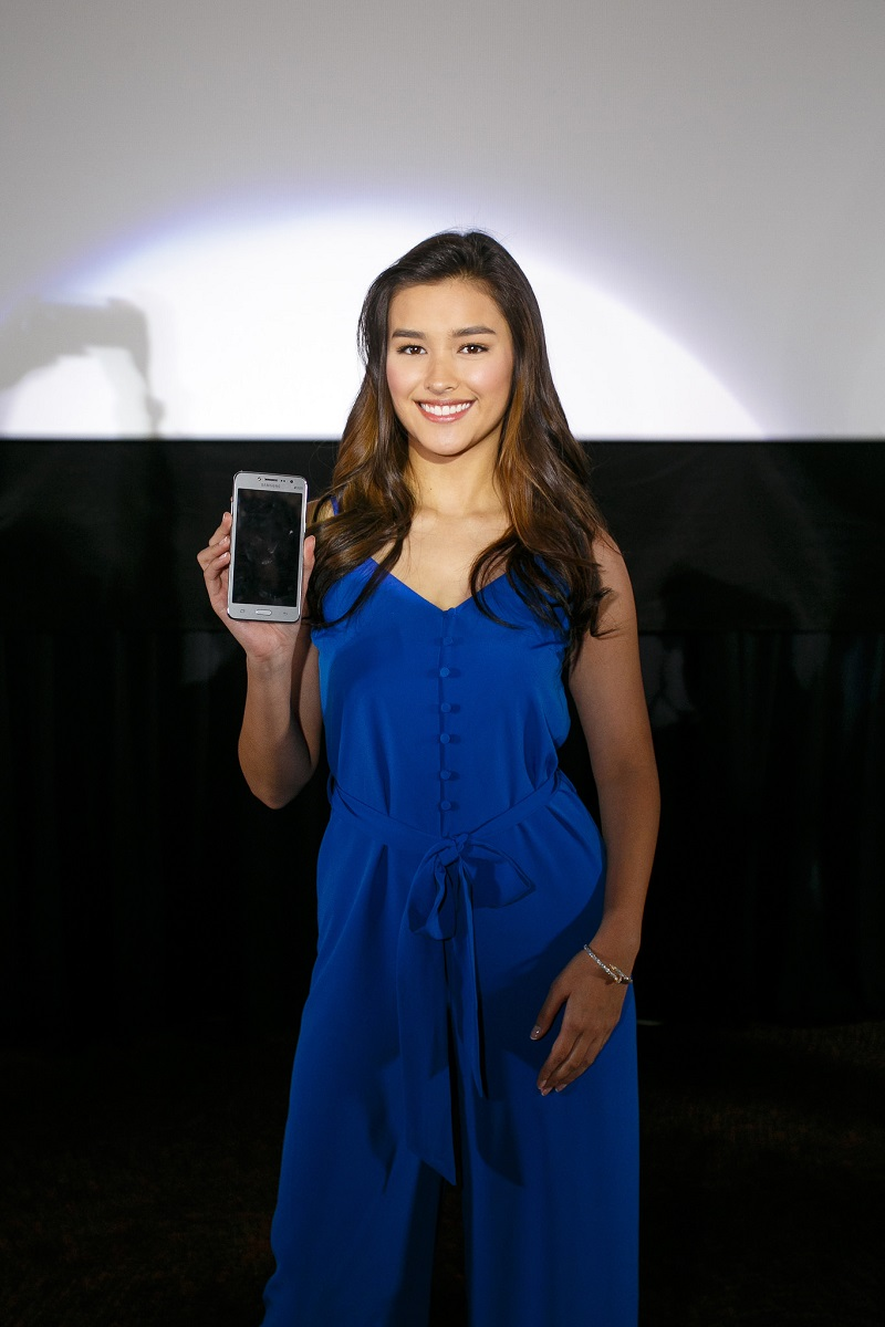 Samsung Galaxy J2 Prime with actress Liza Soberano as its brand ambassador