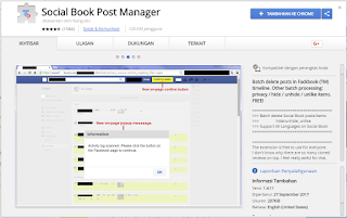Social Book Post Manager