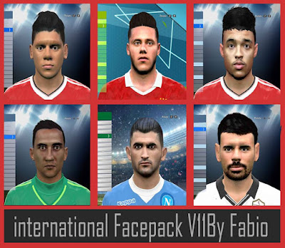 PES 2016 international Facepack V11 By Fabio