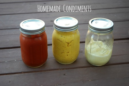 Making your own Homemade Condiments is super easy!  The Gingered Whisk