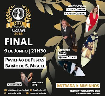Barão de São Miguel recebe Final da Miss Queen Algarve 2018