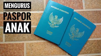 membuat paspor untuk anak