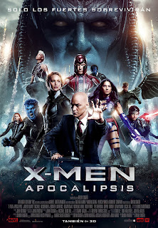 Cartel: X-Men: Apocalipsis