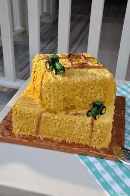 Belle S Bliss Ryan S Hay Bale Cake