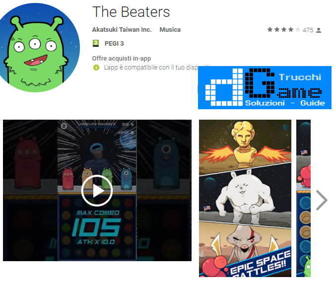 Trucchi The Beaters Mod Apk Android v1.0