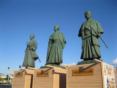 Kochi Statues.