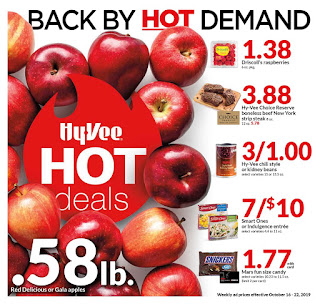 ⭐ HyVee Ad 10/16/19 ⭐ HyVee Weekly Ad October 16 2019