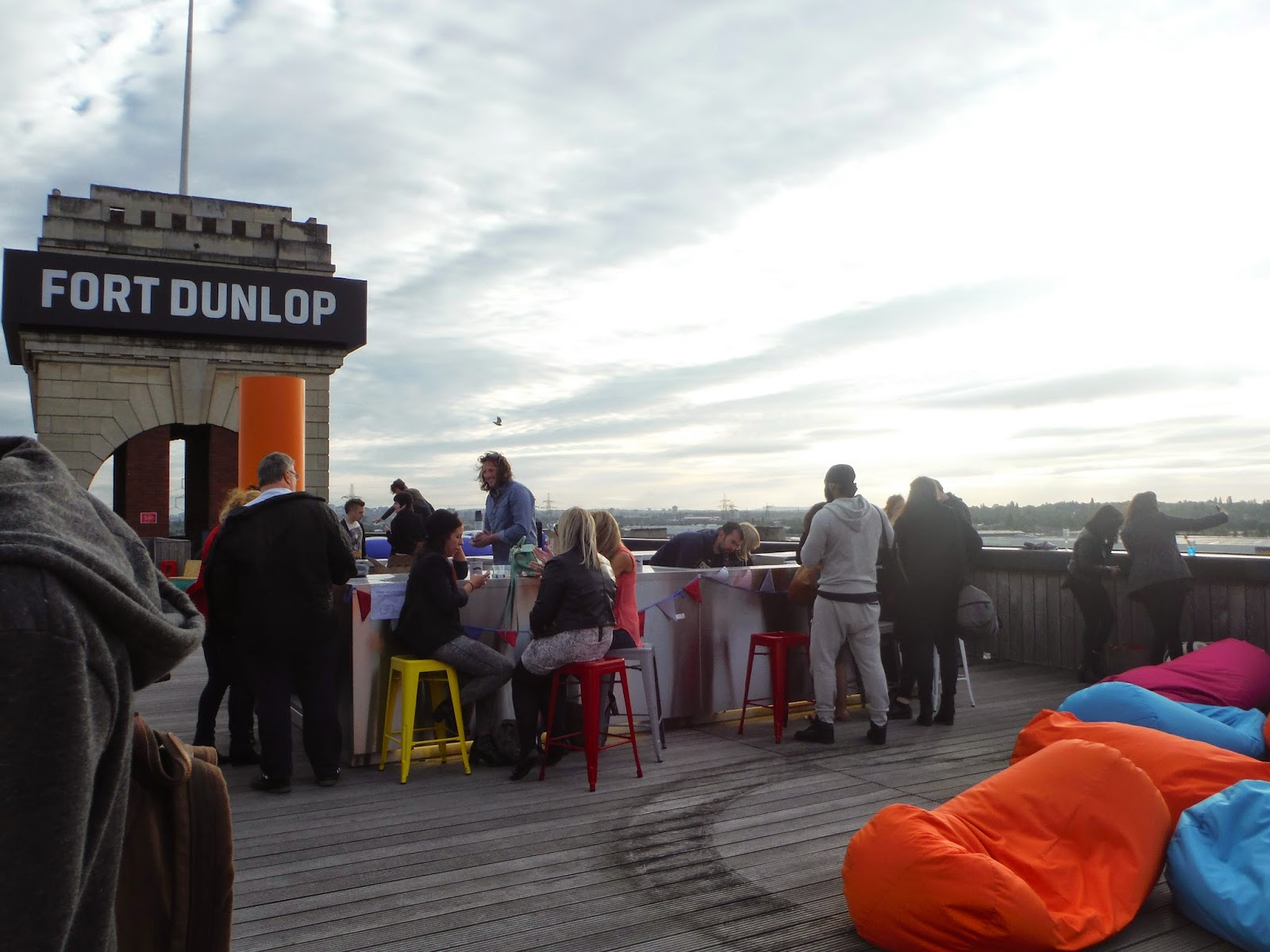 The Rooftop bar at foot dunlop