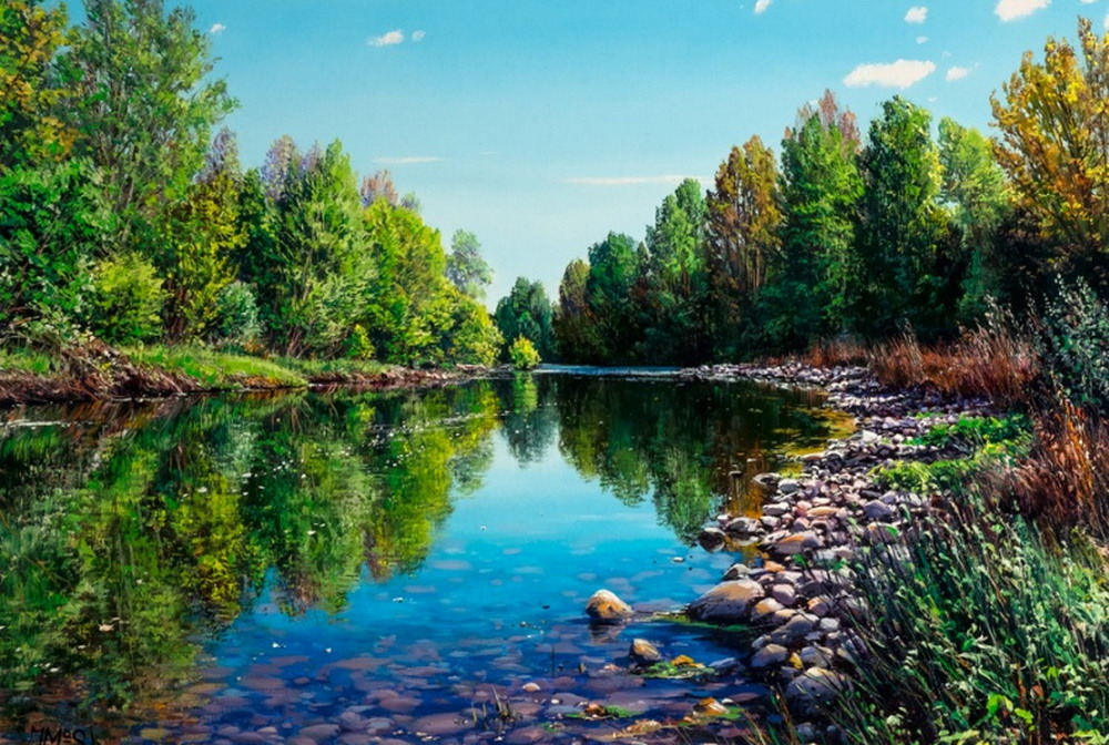 im genes arte pinturas im genes de paisajes bonitos y
