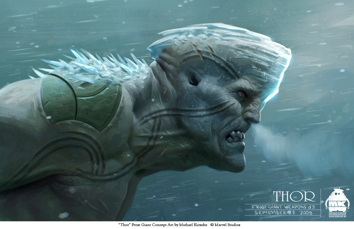 Ice Frost Giant - Pics about space