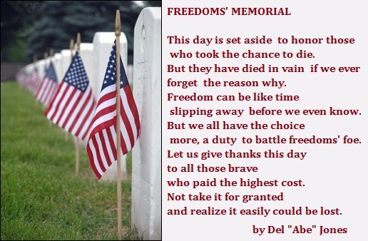 Memorial Day 2017 Poems with Images