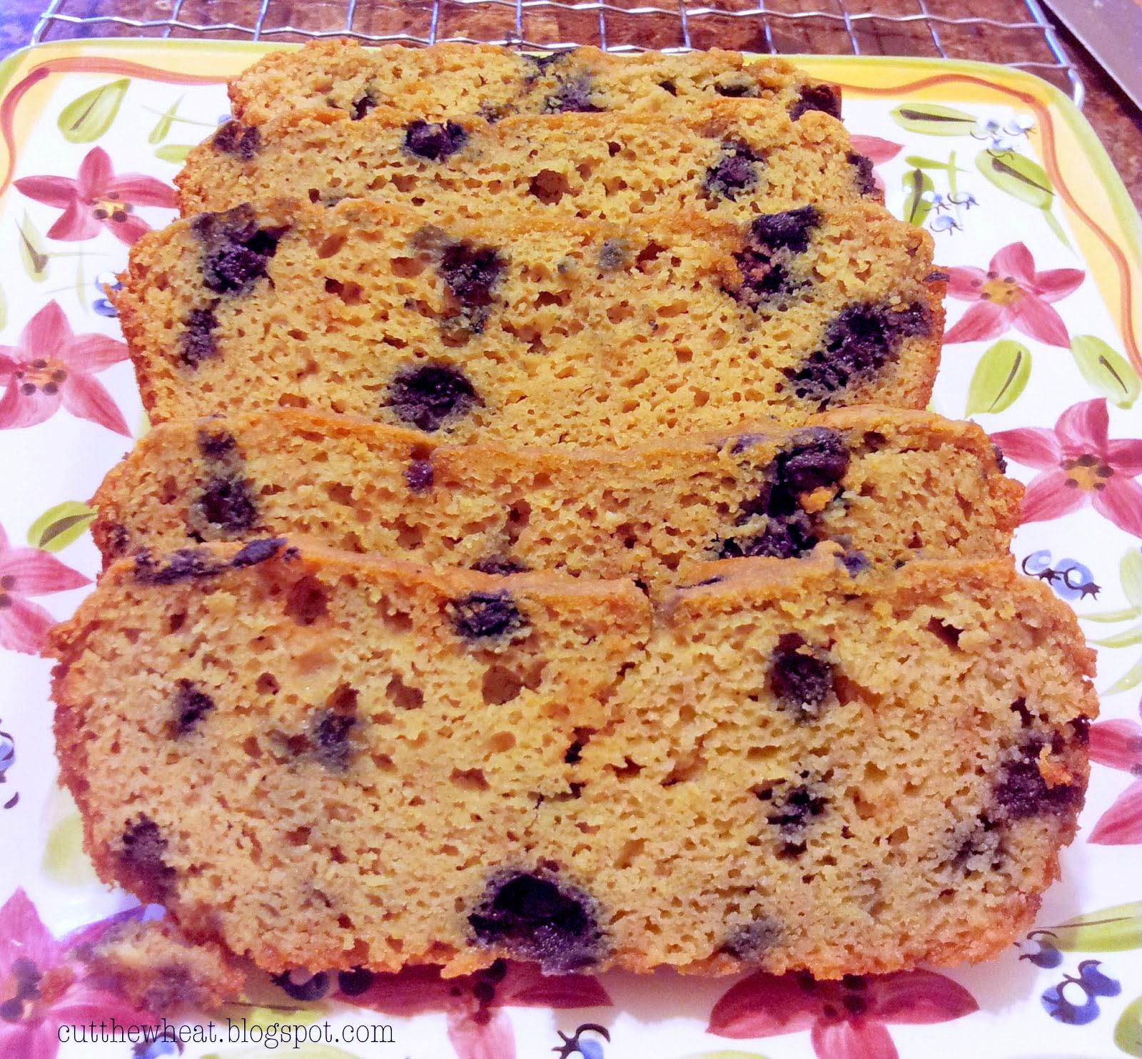 Sweet Blueberry Bread Gluten Free Grain Free Refined