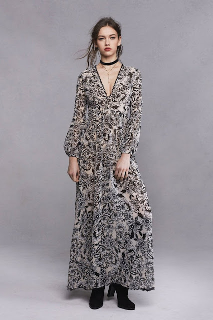 Gracie Maxi Dress by For Love and Lemons for RENT in Toronto