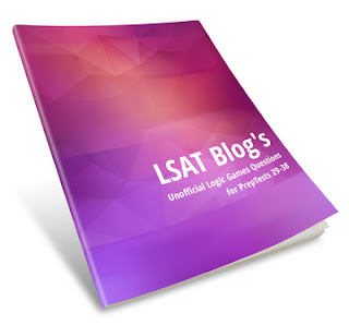 LSAT Blog Unofficial Logic Games Questions for PrepTests 29-38 Cover