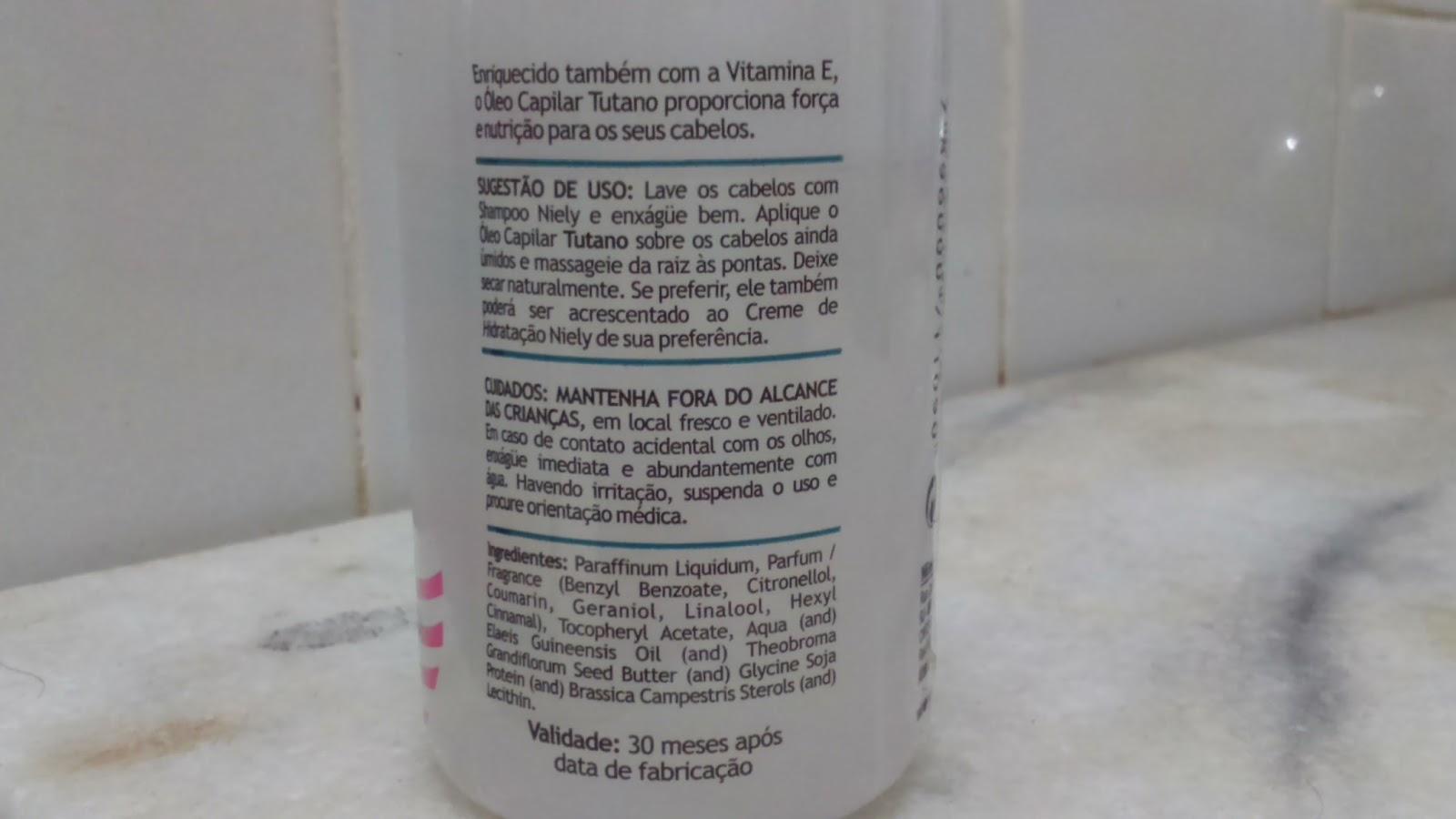 e82cb7cea Mundo de Lorena: Umectação capilar e resenha do óleo capilar de ...