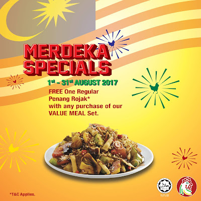 The Chicken Rice Shop Merdeka Special Promo