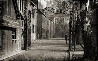 Campo di concentramento Aushwitz entrata