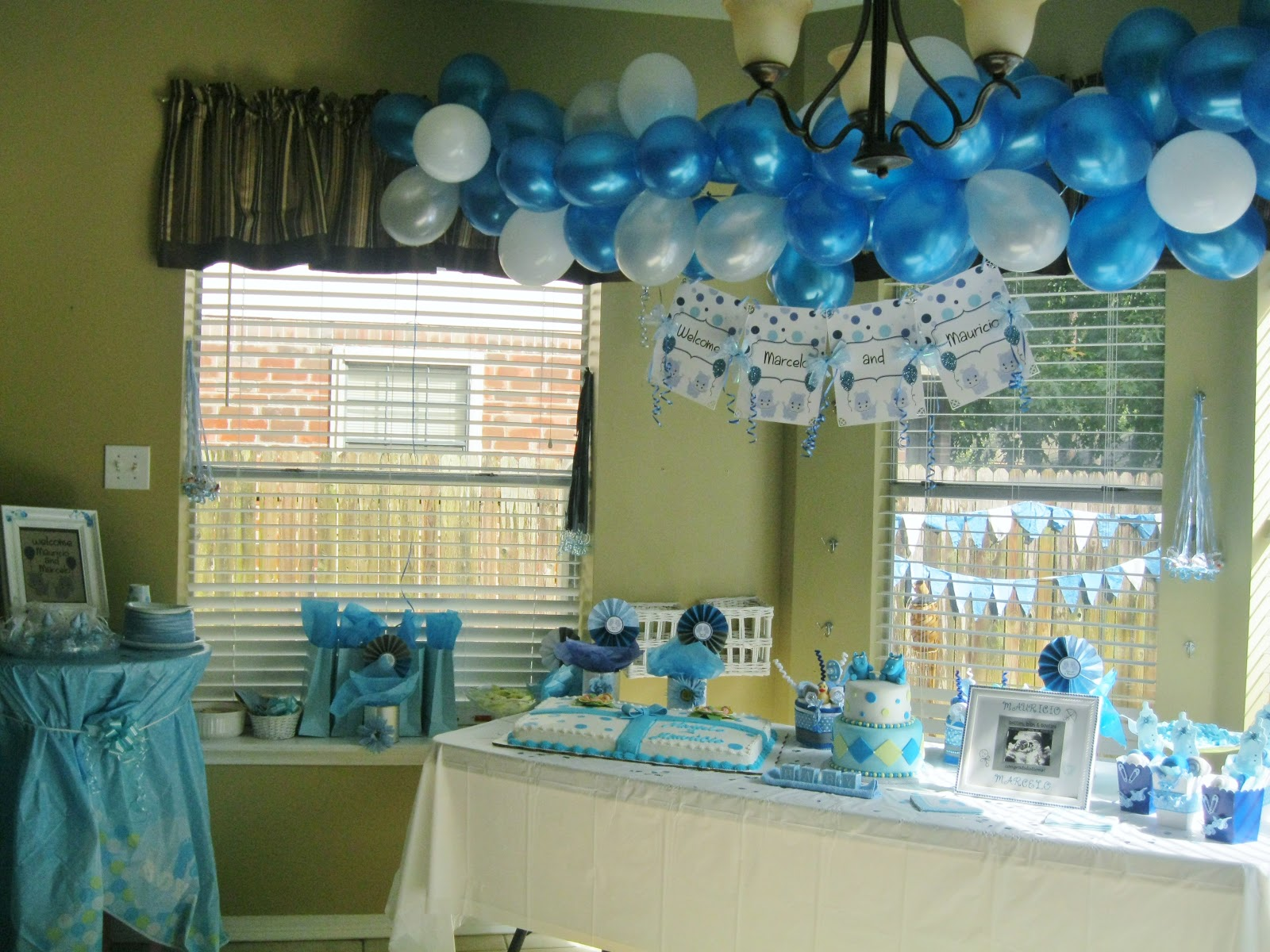 PolkaDots & Monkeys Diaper Cakes ~ Party Planner