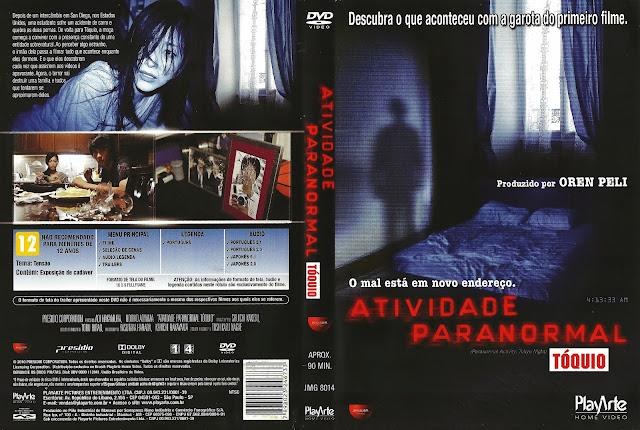 Capa DVD Atividade Paranormal Tóquio