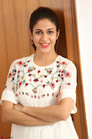 Lavanya Tripathi in Summer Style Spicy Short White Dress at her Interview  Exclusive 228.JPG