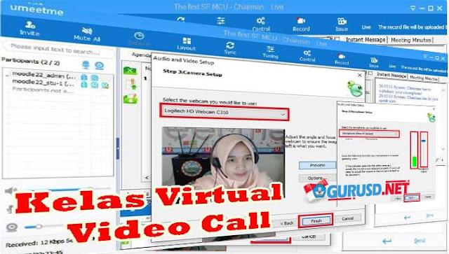 Panduan Kelas Virtual Video Call Web Conference Guru Pembelajar