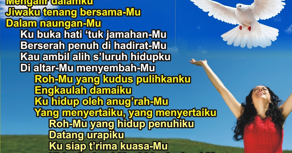 lirik lagu rohani bagai bahtera