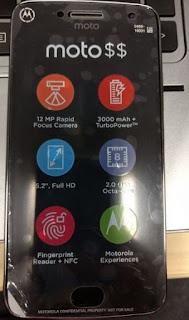Чутки: Moto G5 Plus отримає 5,2-дюймовийдісплей, 12 Мп камеру і підтримаю NFC