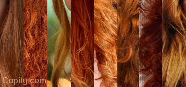 Première fois : coloration rousse