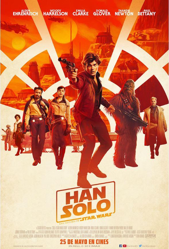 Han Solo: Una historia de Star Wars.